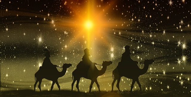 3 wise men following the star